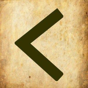Руна Кеназ (Kenaz) – значение и толкование руны в гадании, применение в магии